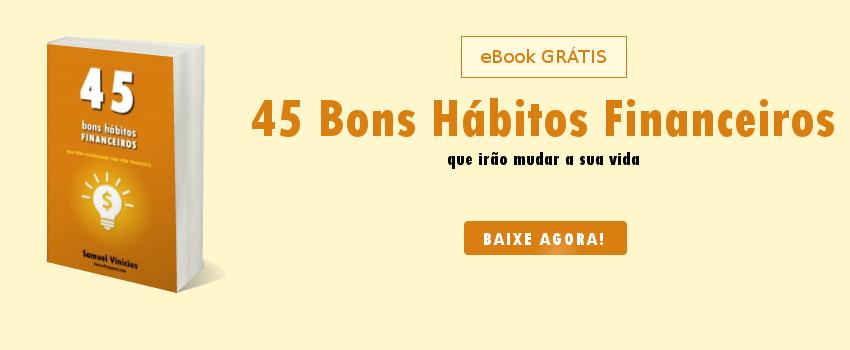 eBook 45 Bons Hábitos Financeiros