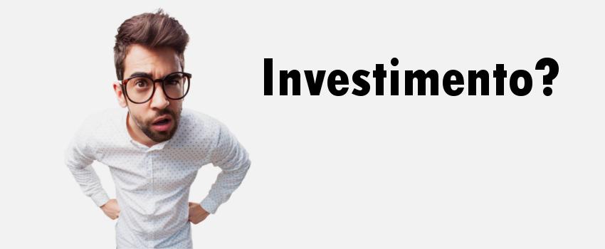 O que é investimento?