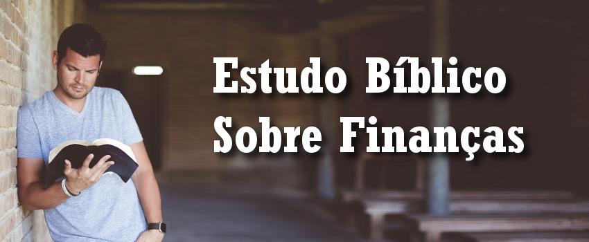estudo bíblico sobre finanças