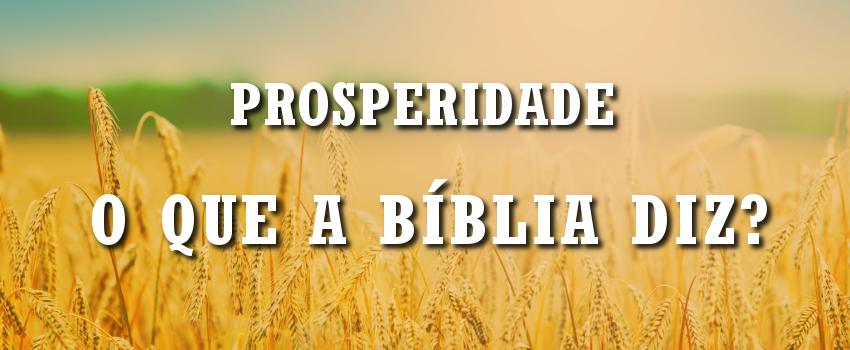 prosperidade na biblia