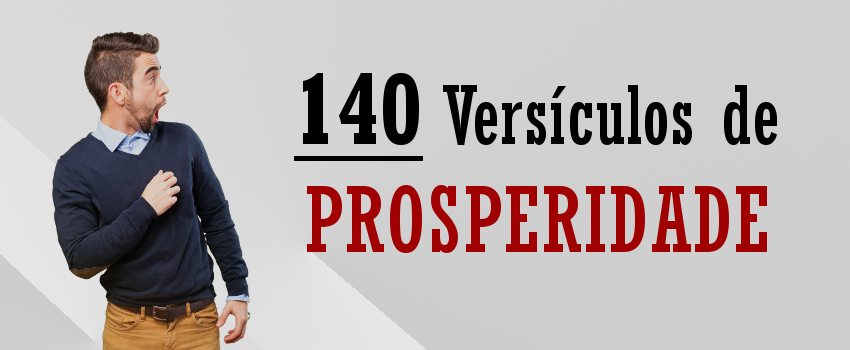 Os 140 Melhores Versículos De Prosperidade